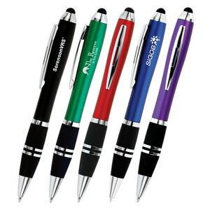 Blitz Color Twist-Action Stylus Ballpoint Pen
